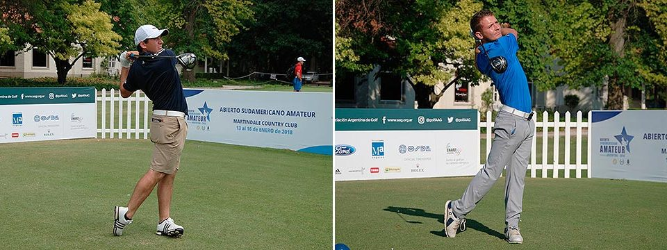 Tosti and Fyfe, McWilliam and Garces are leaders after first round in the South American Amateur Open in Argentina